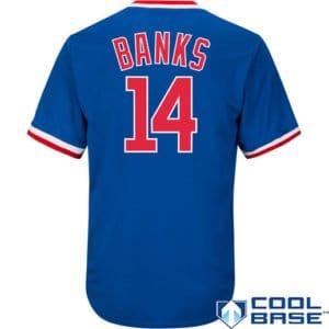 MLB vintage jerseys, throwback mlb jerseys, retro mlb jerseys, throwback ernie banks jersey