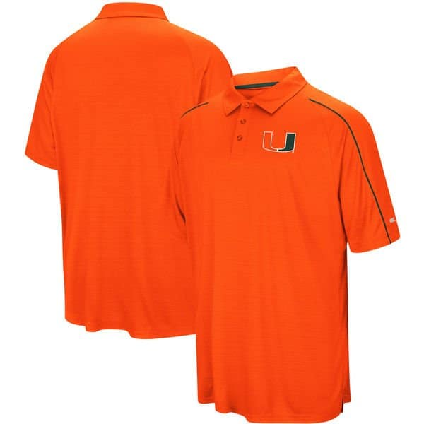 Miami hurricanes tee polo hoodie jerseys s xl 2x 3x 4x for Mens 5x polo shirts